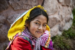 Girls Portrait Arequipa Perù