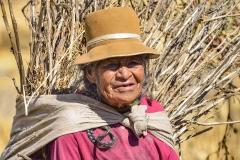Old Woman Urubamba Perù
