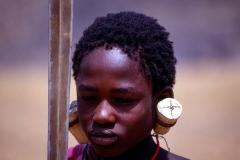 Young Masai Warrior near Arusha Tanzania