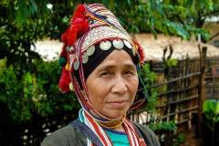 Akha Women Pai near Chiang Rai Thailand