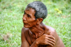 Man in Mae Hong Son Thailand