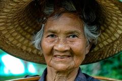 Woman Portrait near Chiang Mai Thailand