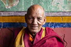 Monk Portrait Alchi Ladakh India