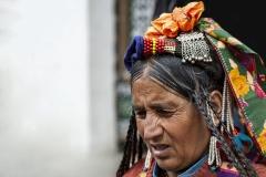 Arian Woman Leh Ladakh India