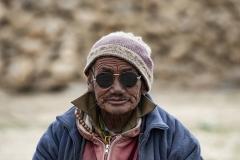Nomad Changpa Man Tsokara Area Ladakh India