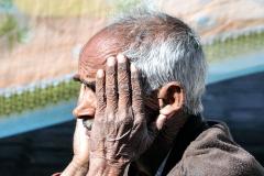 Old Man Darcha Himachal Pradesh India