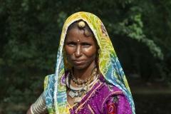Gipsy Woman Bikaner Rajasthan India