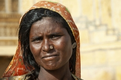 Portrai Bishnoi Women  Pokhran Rajasthan India