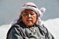 Woman Badrinath Uttarakhand India