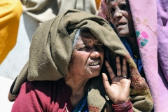 Old Woman Gamshali Uttarakhand India