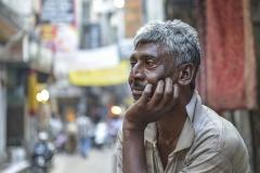 Sikh Man Observe Amristar Punjab India
