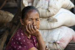 Toraja Woman Compong Sulawesi Indonesia