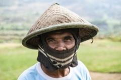 Farmer near Lempabatu Sulawesi Indonesia