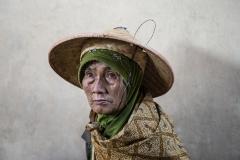 Woman Portrait near Mundong Java Indonesia