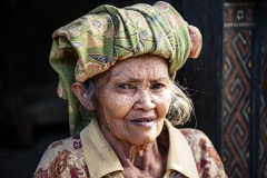 Toraja Woman near Parara Sulawesi Indonesia