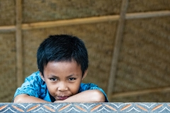 Toraja Young Boy near Parara Sulawesi Indonesia