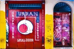 Street Art University Area Bologna Italy