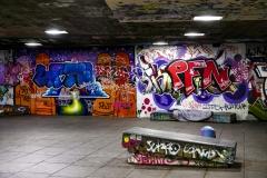 Street Art Southbank London England