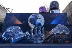 Street Art Shoreditch London England