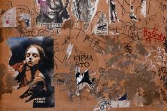 Street Art Trastevere Rome Italy