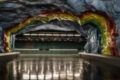 Street Art Tunnelbana Stadion Station Stockholm Sveden