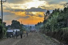 Sunset Street Ngele Ethiopia