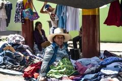 Nazca Clothes Street Market Perù