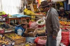 Street Market Ollantaytambo Perù