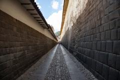 Hatunrumiyoc Street Inca Walls Cusco Perù