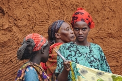 Street Fabrics Seller Key Afar Ethiopia