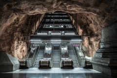 Tunnelbana Rådhuset Station Stockholm Sveden