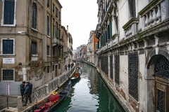 Old Channel Venice Italy