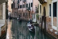 Gondole Venice's Canal Italy
