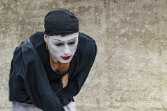 VenicMimo Street Carnival Performance Venice Italy