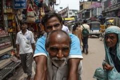 Street People Varanasi Uttar Pradesh India