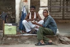Street Shoemaker Ajmer Rajasthan India