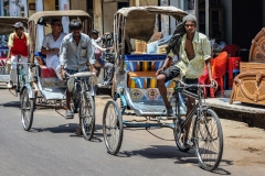 Varanasi Risciò Man Uttar Pradesh India