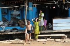 Street Family Life Bijawar Madhya Pradesh India
