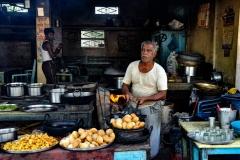 Street Food Omkareswara Madhya Pradesh India