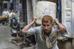 Porter on the Street Amristar Punjab India