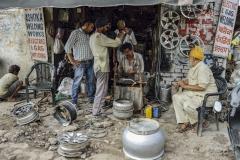 Street Chandigarh Punjab India