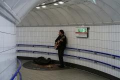 Underground Guitarist London England