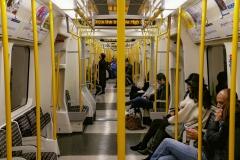 The Tube Train London England