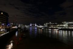 Tower Bridge Night Landscape London England