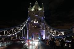 Tower Bridge Night Lights London England