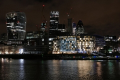 The City Lights by Night London England