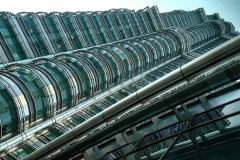 Petronas Tower Profile Kuala Lumpur Malaysia
