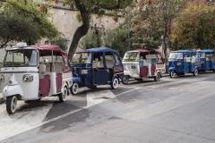 Ape Car Trasportation Palermo Italy