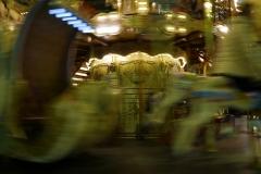 Carousel in Motion Trocadéro Square Paris France