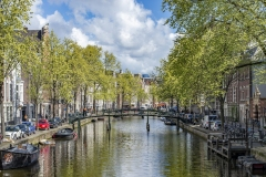 Canals Landscape Amsterdam Holland